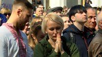 Вибух емоцій: учасники мітингу зраділи закону про мову