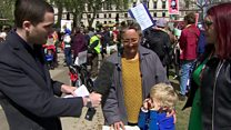 Why four-year-olds are protesting in Westminster