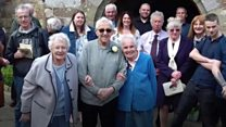 Couple renew vows - after 75 years