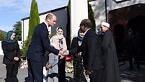 Prince William gives speech at site of Christchurch attack
