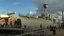 HMS Caroline makes Museum of the Year award shortlist