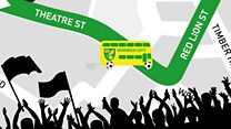 Canaries' promotion parade route revealed
