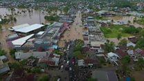 Dozens killed in Indonesia floods