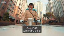 一人暮らしの高齢者、ヤクルトレディが見守る 韓国