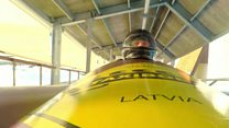 Bobsleigh racing thrills for tourists