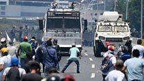 Venezuela, uwutavuga rumwe na leta avuga ko yarekuwe n'abasirikare