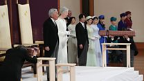 Japan's emperor abdicates the throne