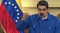 El mensaje de Nicolás Maduro en cadena nacional junto a mandos militares