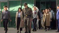 S Korean tourists let back into border compound