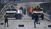 On the ground of Venezuela's uprising