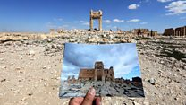 Tracking the history looted from a warzone