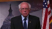 Bernie Sanders on Trump's veto on Yemen
