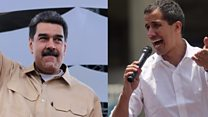 Who's backing who in the Venezuela crisis
