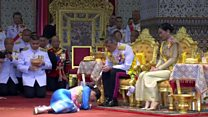 Thai king's coronation continues for second day