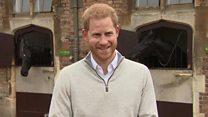 Prince Harry announces birth of baby boy