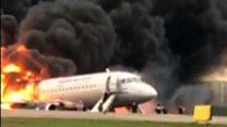 ရုရှားလေယာဉ်မီးလောင်လို့ ၄၁ ဦးသေဆုံး