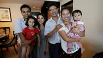 Freed Myanmar journalists reunited with their families