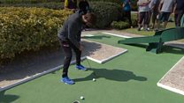 Crazy golf champion: 'It's a serious thing'