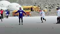 Breaking records playing rugby at Everest