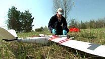 Drones map Chernobyl contamination
