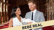 Meghan Markle, Harry y el nuevo bebé real: estas son las imágenes del primer hijo de los duques de Sussex