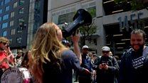 Ride-share drivers unite in US strike