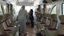 افتتاح أول مترو في العاصمة القطرية
