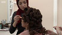Shagon gyaran gashin masu sa hijabi