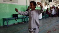 پانچ سالہ معذور بچے کی ویڈیو وائرل