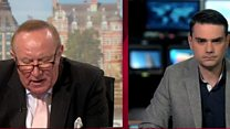 Andrew Neil takes on US conservative Ben Shapiro