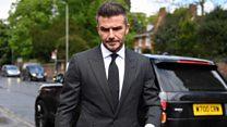 David Beckham apigwa marufuku ya kuendesha gari