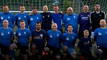 Football team for bereaved fathers