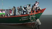 A journey across land and sea to reach 44 voters