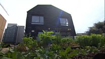 The house made of landfill waste