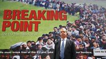 Farage: Breaking Point poster 'transformed politics'