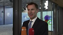 Hunt: This is a crunch week for Brexit talks