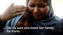 """Zainab Aliyu just dey shout """"I thank God I thank God"""" afta she land Kano"""