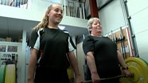 Teenager holds nine weighlifting records