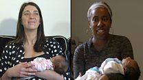 Giving birth in the UK vs US