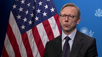 US 'not looking for war with Iran'