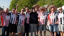 Football rivals gear up for charity rally