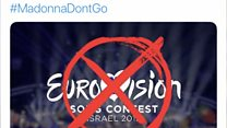 """""""يوروفيجن"""" في إسرائيل تثير جدلا"""