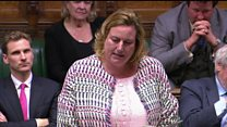 Loudspeaker stops MP mid-question at PMQs
