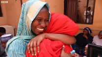 See joy as Zainab Aliyu return back to her family