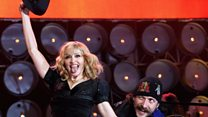 On the hunt for Madonna at Eurovision
