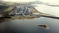 Drone footage of Hunterston Terminal