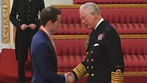 Sir Andy Murray receives knighthood
