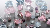 Mining diamonds in Botswana