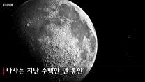 달이 조금씩 줄어드는 이유는?