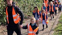 Park and stride - the future school run